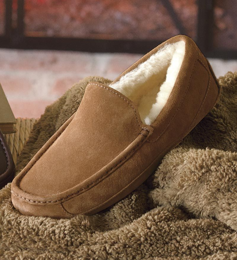 0c8866e4a35 UGG® Australia Men's Ascot Suede Slippers | Father's Day: Gifts ...