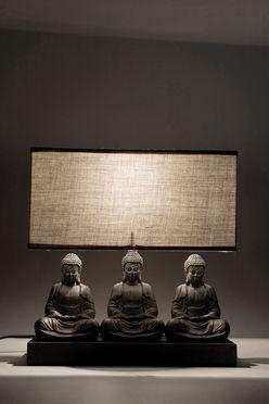 Lampada da tavolo Sitting Buddha Rectangular by Kare