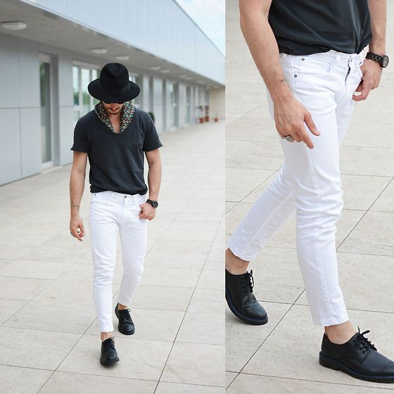 Zara Pants, Borsalino Hat, Jord Watch