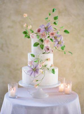 Wedding Cake Inspiration - Photo: Jose Villa