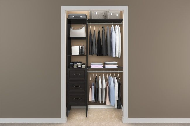 Small Closet Design. My Thoughts Exactly!
