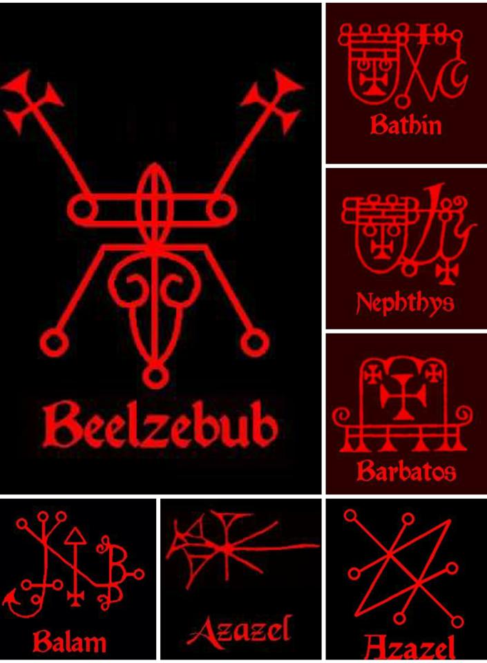Demon: Sigils | Sigil in 2019 | Occult symbols, Satanic art, Demon