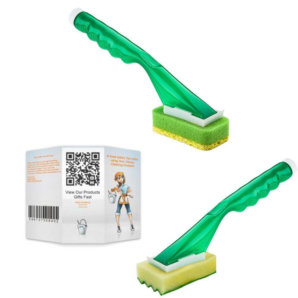 Libman Dish Sponge and Scrub Brush Soap Dispenser Bundle - 3 Items ...