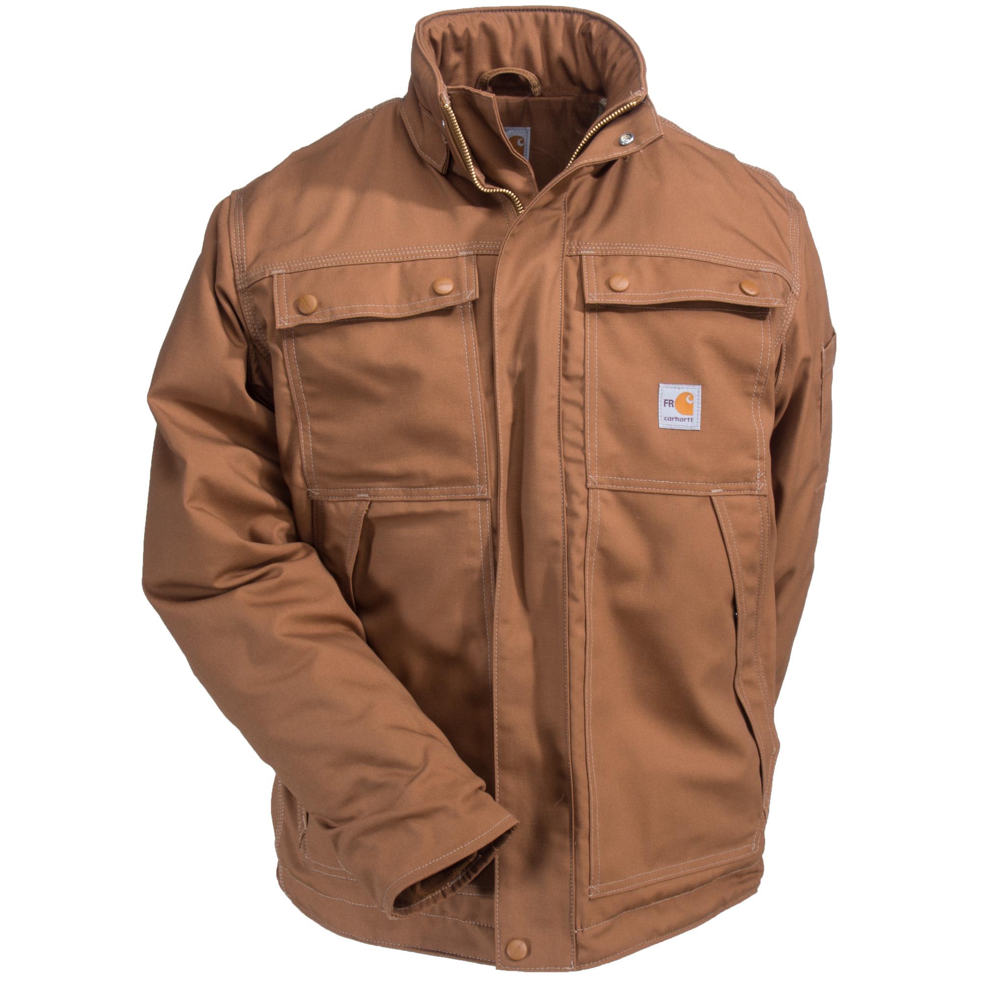 Carhartt Coats Men S Brown 102182 211 Fr Full Swing Quick Duck Coat In 2021 Carhartt Coats Mens Outfits Carhartt [ 2000 x 2000 Pixel ]