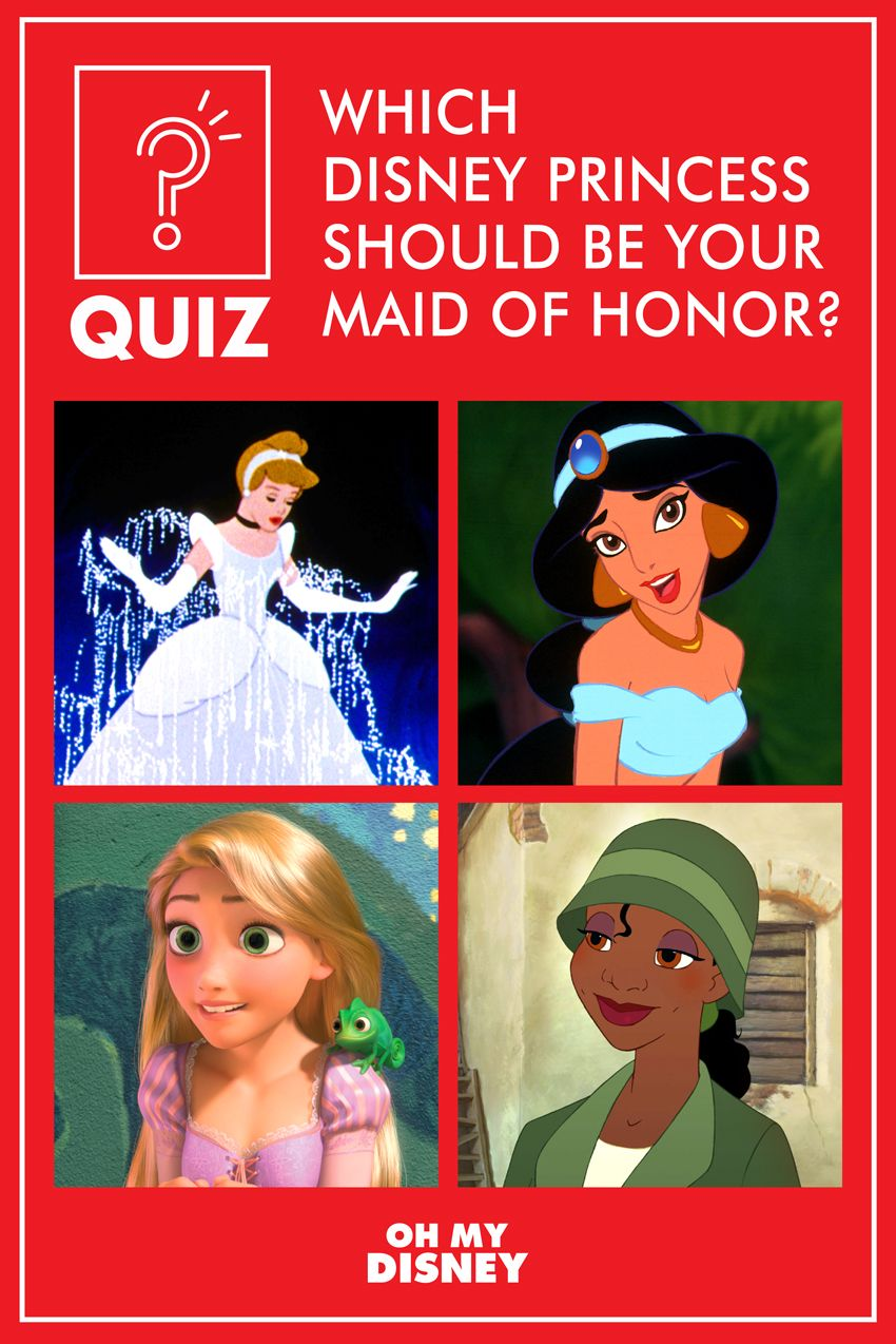 Quiz: Which Disney Princess Should be Your Maid of Honor ...