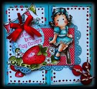 A Project by Lucy Folch from our Cardmaking Gallery using Magnolia's stamps.