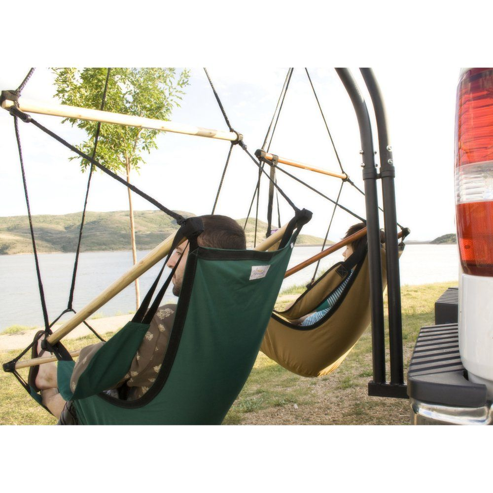 Car hitch hammock stand Hammock, Hammock swing chair