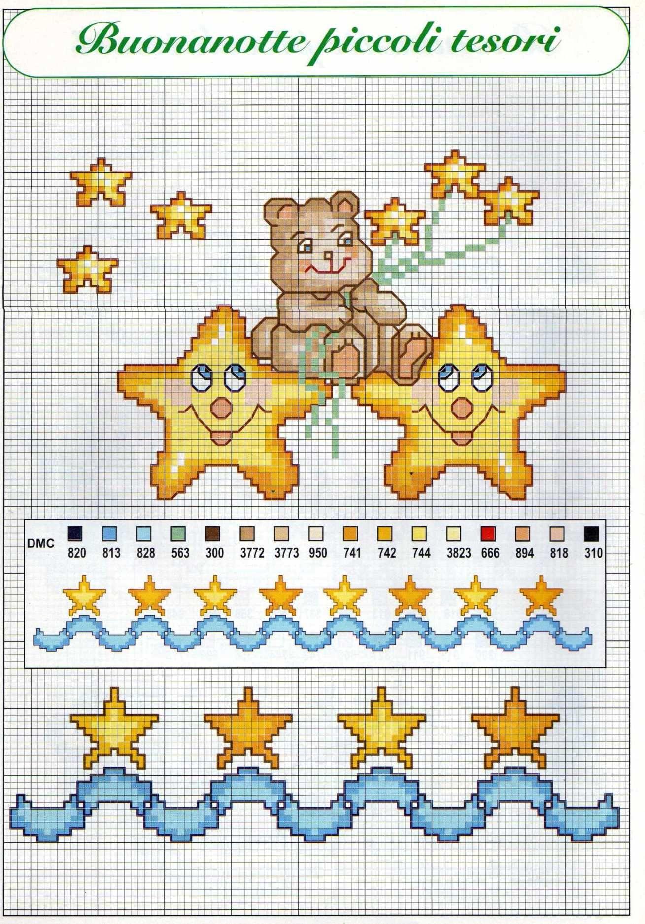 Risultati immagini per stellina punto croce punto croce for Punto croce immagini
