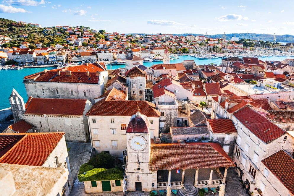 Trogir A Tiny Dalmatian Town Historical Place Towns Most Beautiful Cities