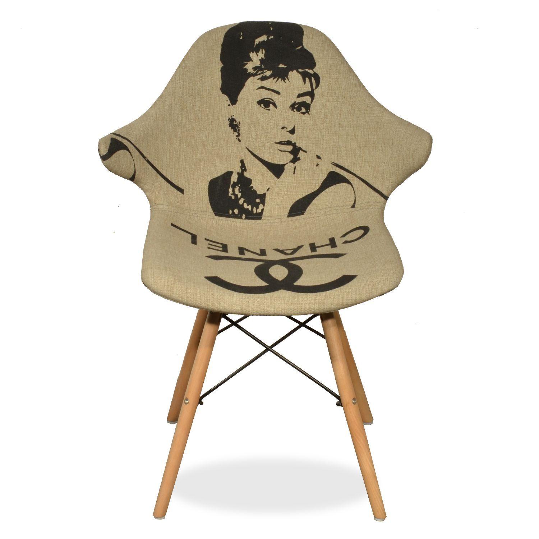 Silla Hug Audrey Hepburn Sillas Tapizadas Sillas De Dise O  # Hepburn Muebles