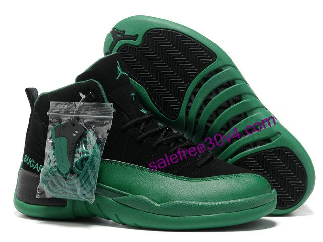 bf7788c1240 Jordan Retro 12 Green Black | Nike Air Jordan Shoes | Nike air ...