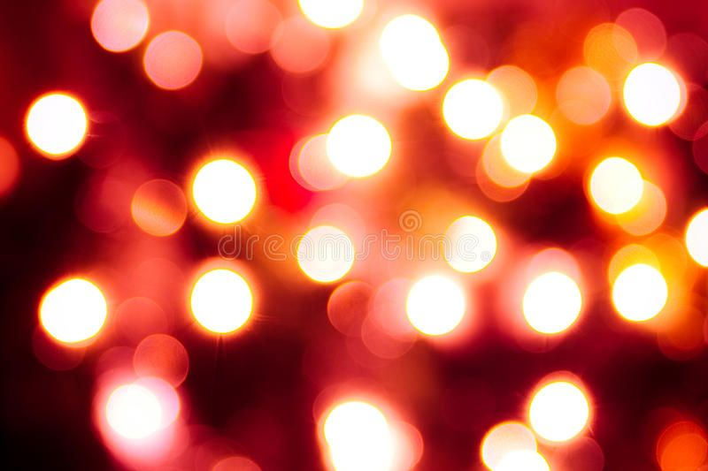 Abstract Background Of Lights Red Tint Abstract Background Of
