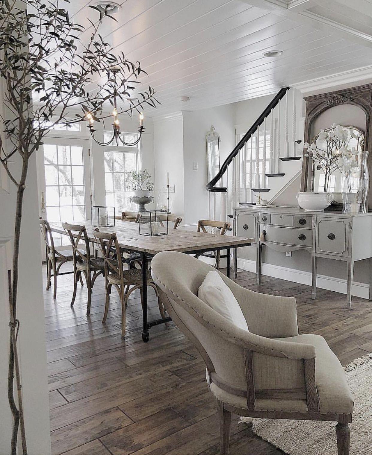 Featherglass Farm House Living Room Living Room Trends Dining Room Interiors #urban #farmhouse #living #room