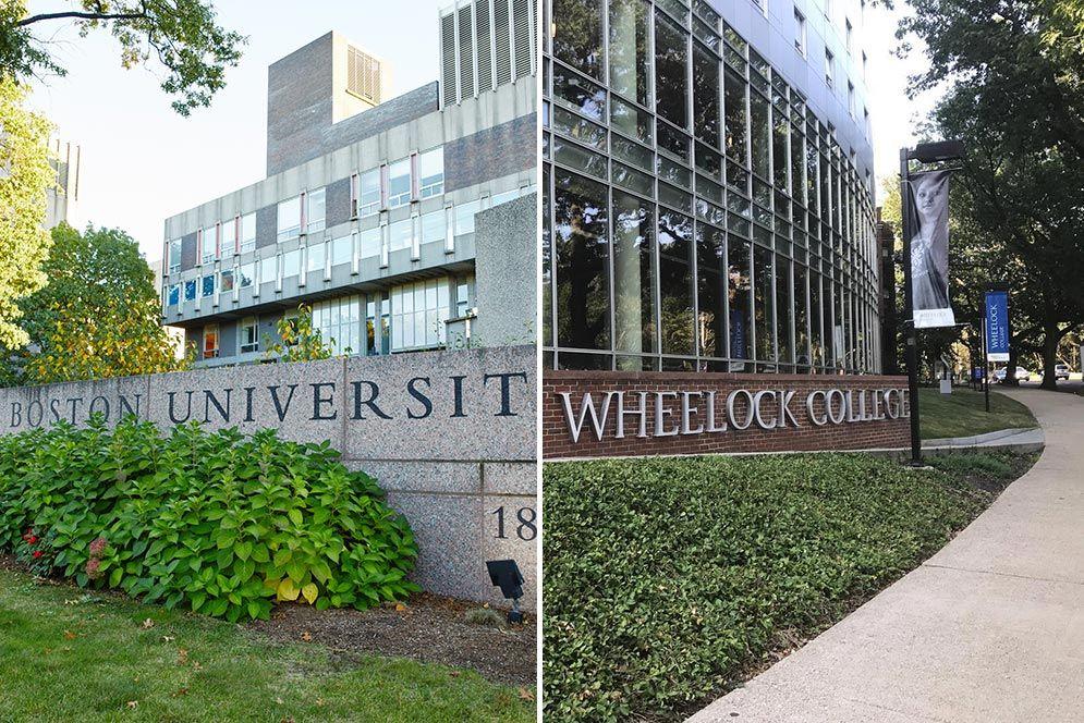 Boston University and Wheelock start merger talks