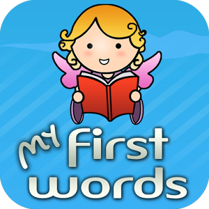 Audio picture dictionary app for children learning words