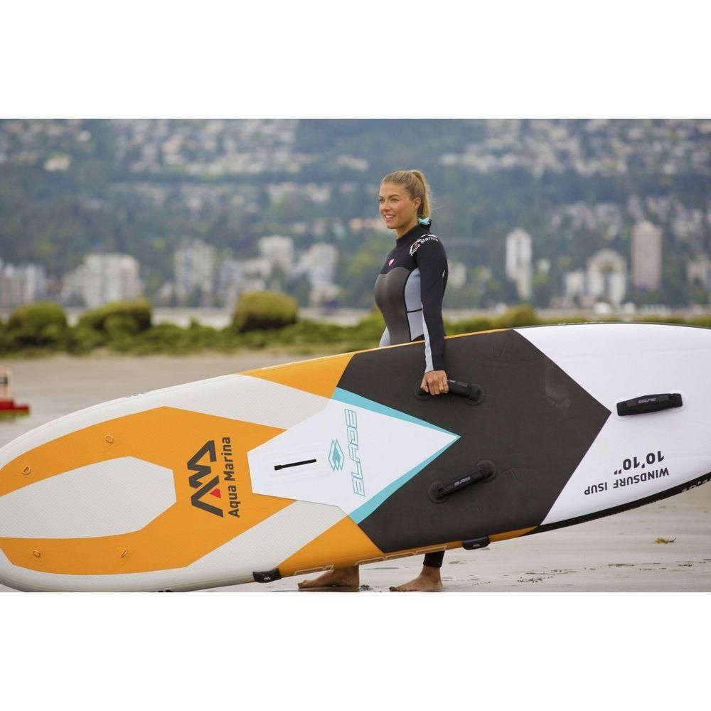 Aqua Marina Blade 10 10 Stand Up Paddle Windsurf Gonflable Sup Paddleboard Standuppaddle Inflatable Paddlegonf Gonflable Stand Up Paddle Planche A Voile