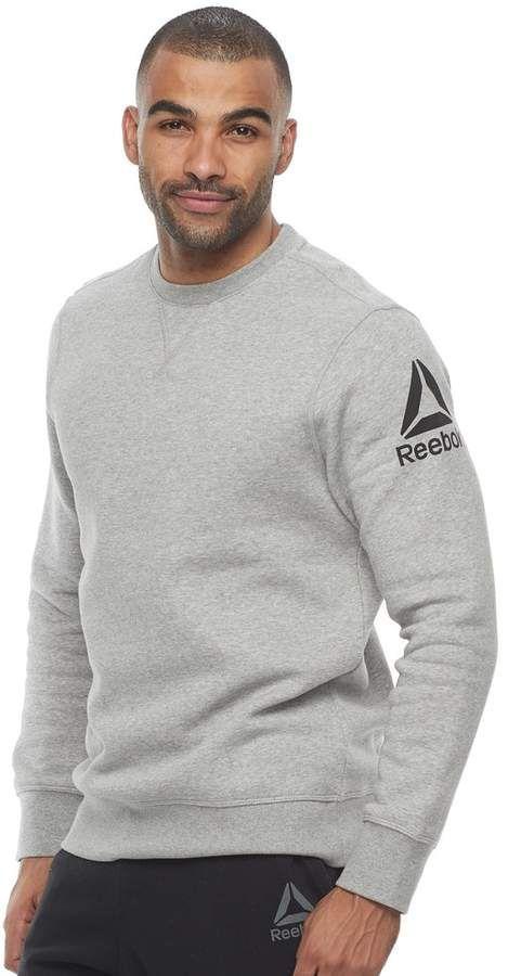 Men's Reebok Logo Sweatshirt   Men
