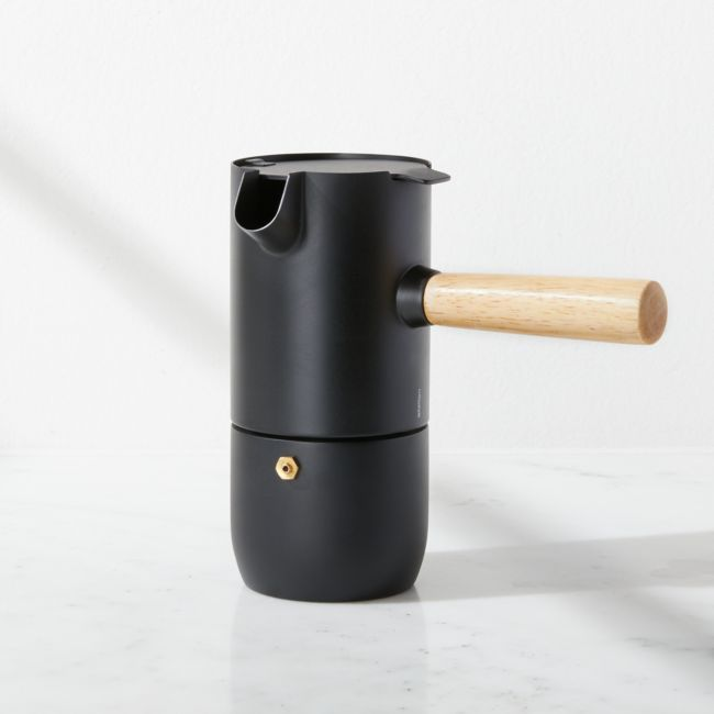Stelton Collar Espresso Maker | Crate and Barrel #espressomaker