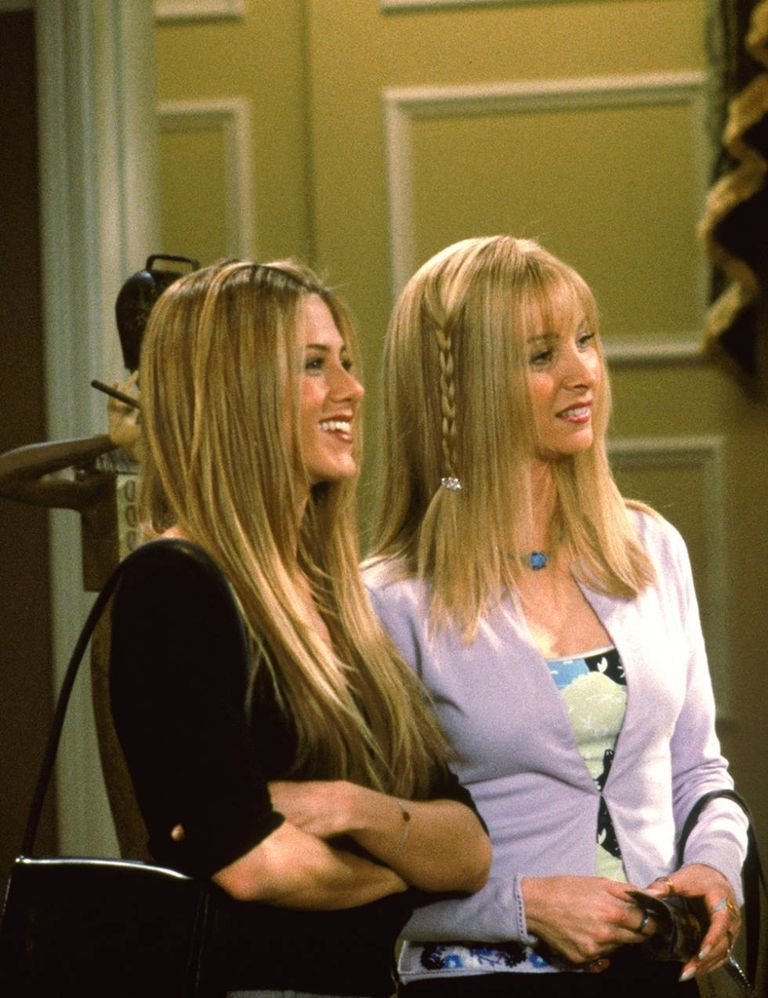 20 Iconic Friends Hairstyles Rachel Phoebe Monica Hair