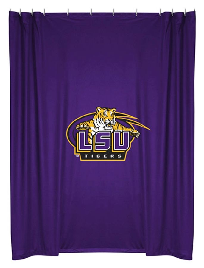 Lsu Tigers Shower Curtain Sorry Just Had Too Geaux Tigers With Images Lsu Tigers Lsu Louisiana State