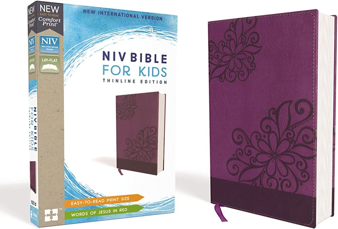 Download Niv Bible For Kid Leathersoft Purple Red Letter Edition Comfort Print Thinline Editi New Revised Standard Version Catholic Pdf Free