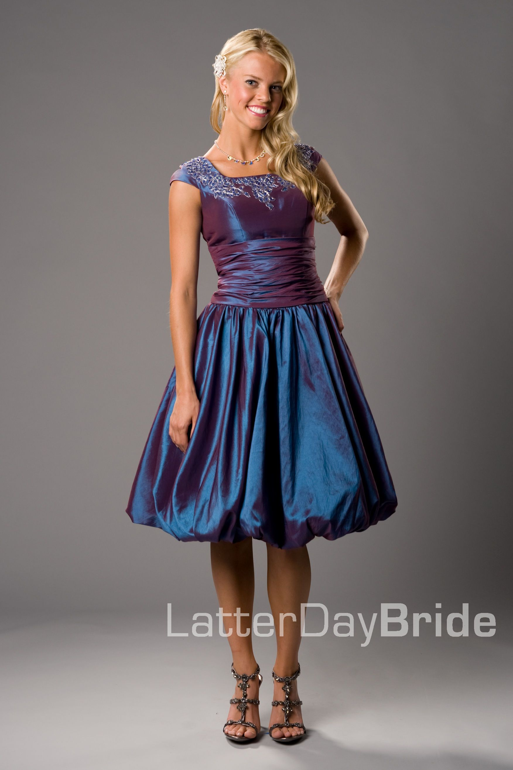 Bridesmaid prom elsie latterdaybride prom modest mormon bubble dress easy moms bubble skirt pattern with the new dress pattern top and voila this dress is complete ombrellifo Gallery