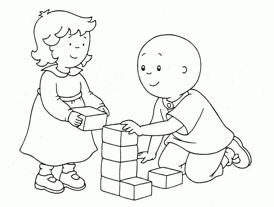 Caillou Coloring Pages Caillou And Rosie Coloring Pages Cartoon Coloring Pages Cat Coloring Book Rose Coloring Pages