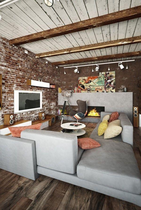 Home designing via 2 loft ideas for the creative artist