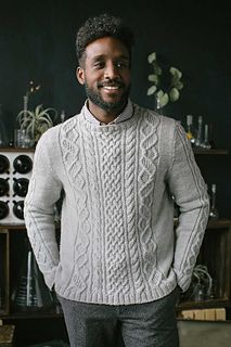bc066a583 The DNA Pullover puts a helical spin on traditional Aran-sweater ...