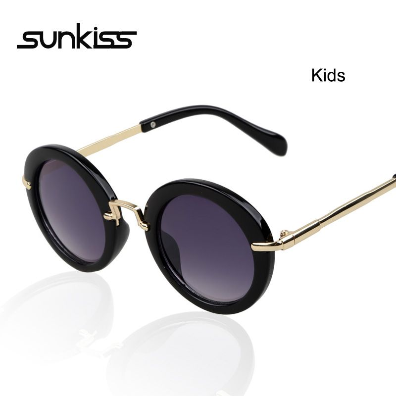 sunglasses for girls oiie  Round Face Kids Sunglasses Girls Boys UV400 Sunglasses Retro Vintage  Eyeglasses With Florals Glasses Children Oculos