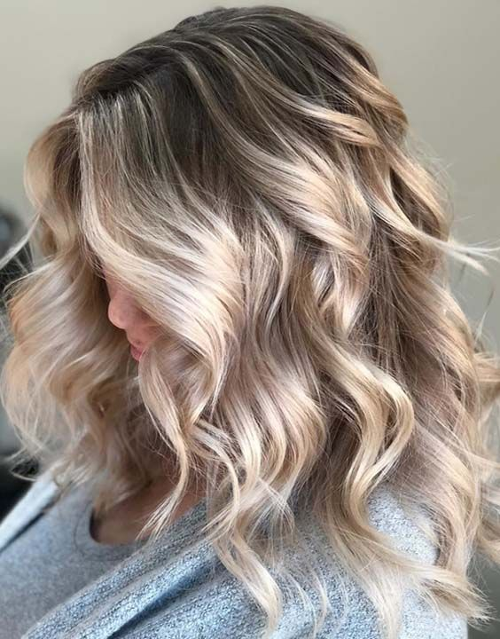 hair styles for fifty 33 dreamy balayage hairstyles and hair color ideas 4357