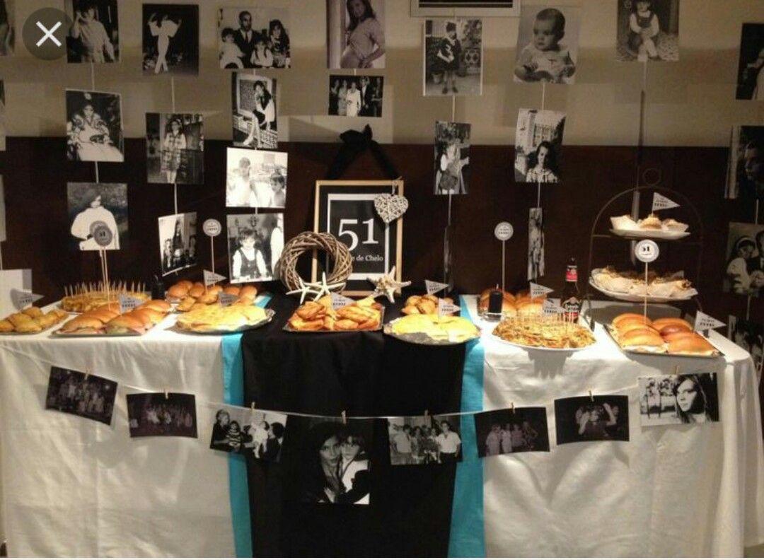 Decoracion mesa chuches mesa chuche 30 pinterest - Decoracion anos 50 ...