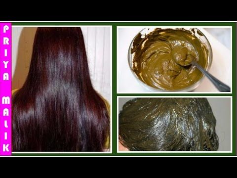 Natural Henna Hair Pack To Get Beautiful Smooth And Silky Hair