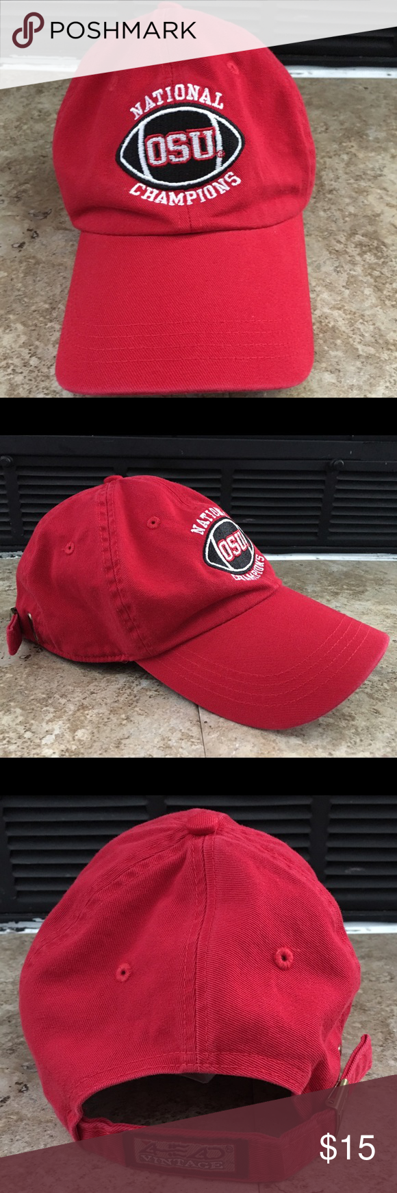 separation shoes 68b73 7bad8 ... best coupon for vintage ohio state university football champs cap  vintage excellent condition one size fits