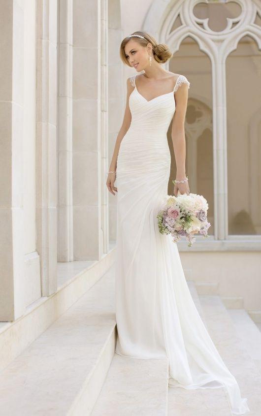 Classic Columns 10 Beautiful Sheath Wedding Dresses - Column Sheath Wedding Dresses