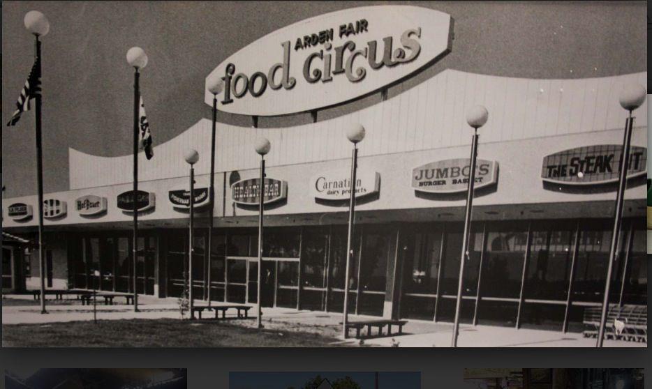 Food Circus At Arden Fair Mall Sacramento Ca