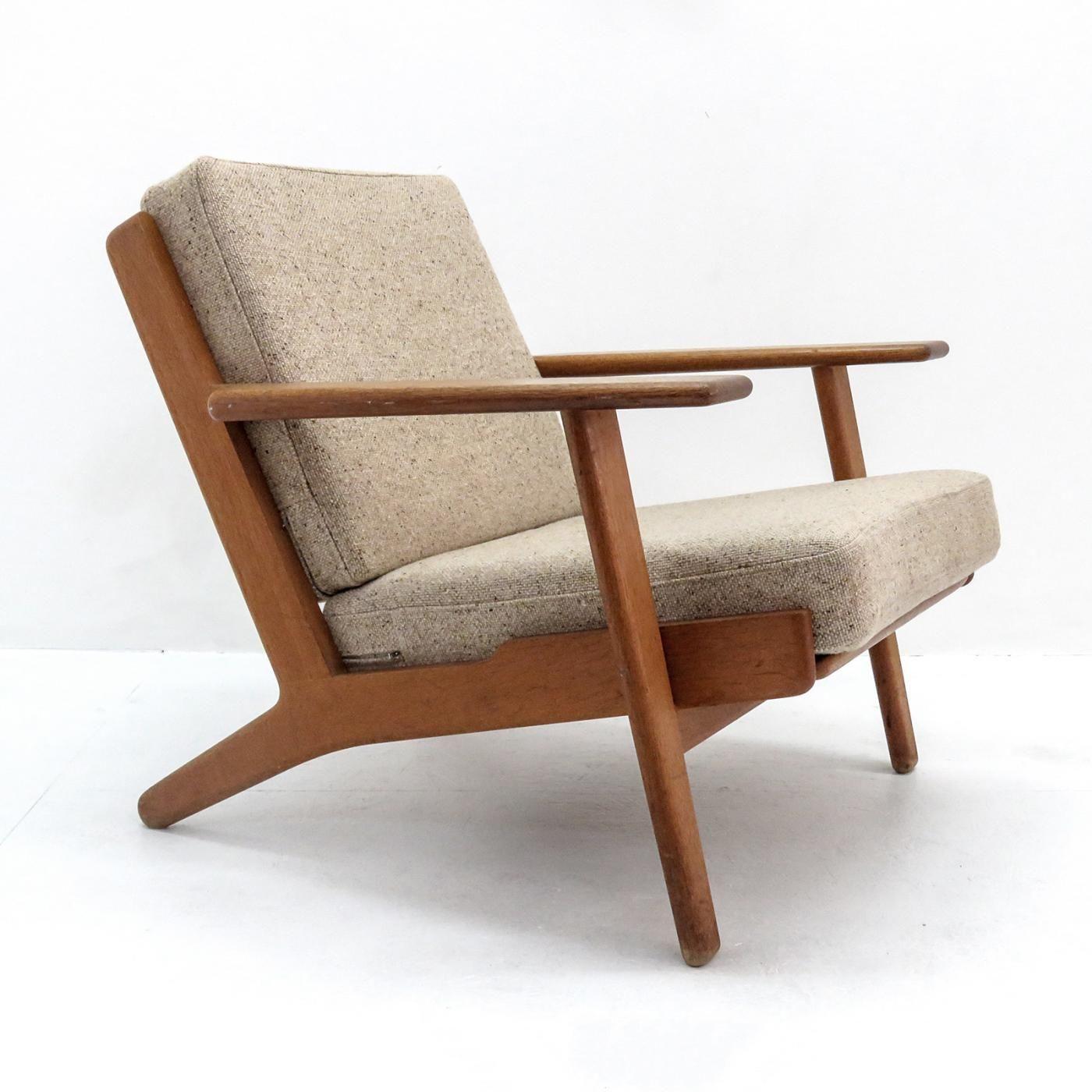 Hans Wegner Ge 290 Lounge Chair By Hans J Wegner Wegner Chair
