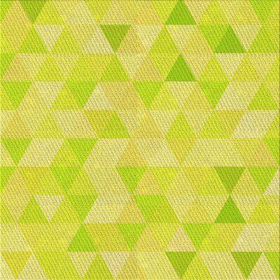 East Urban Home Humairaa Geometric Wool Yellow Green Area Rug East Urban Home Green Area Rugs Area Rugs