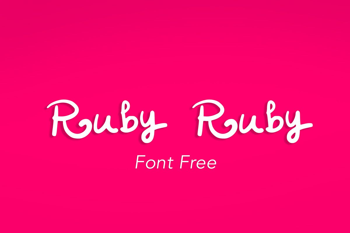 Handwritten Font For Free Download