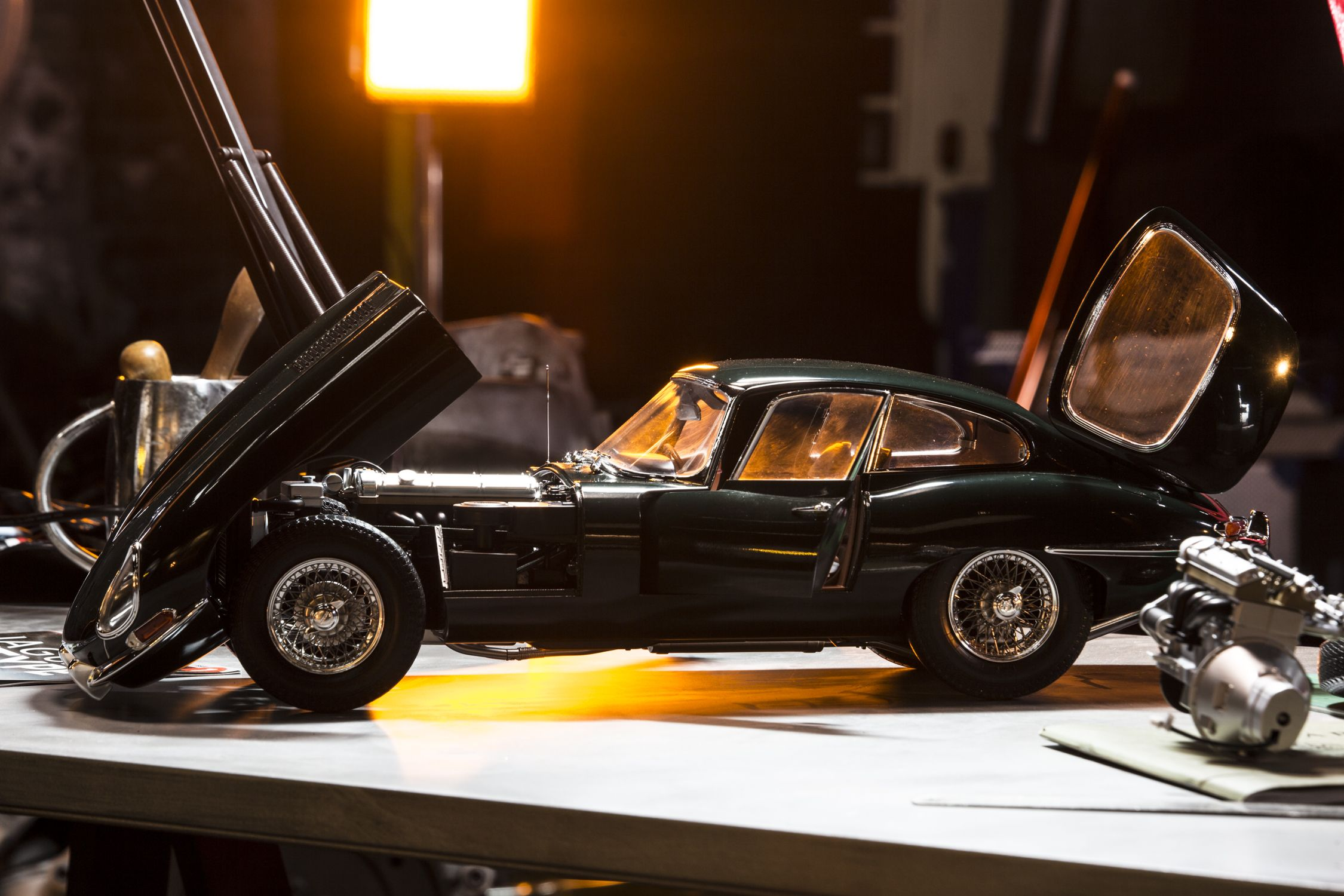 Jaguar Etype Scale Scale And Scale Models - Sports cars international