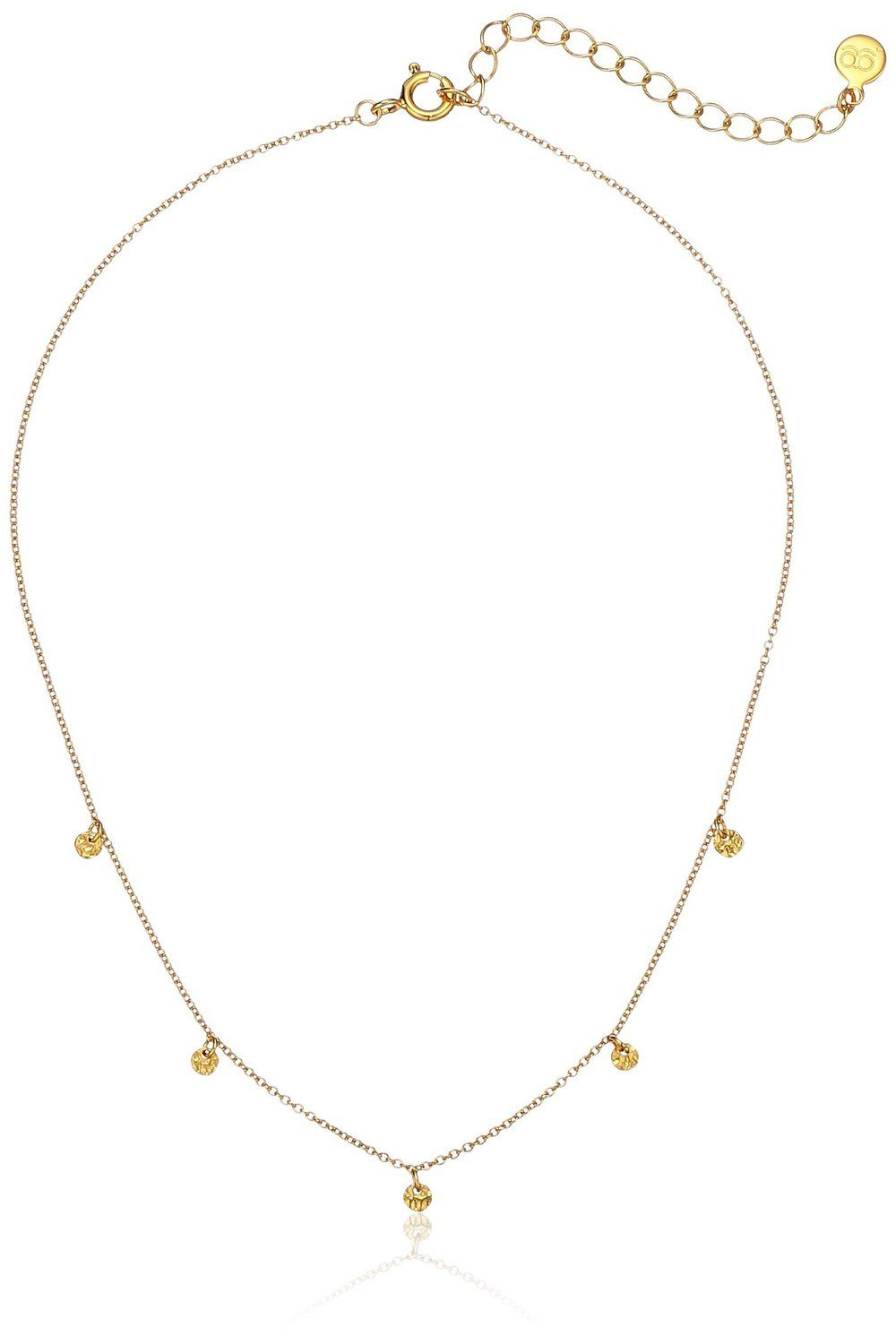gorjana 5 Disc Choker Necklace, 12'   2' Extender *** Find out more details @ http://www.amazon.com/gp/product/B01AJZSNUY/?tag=finejewelry4u.com-20&pxy=030716075910