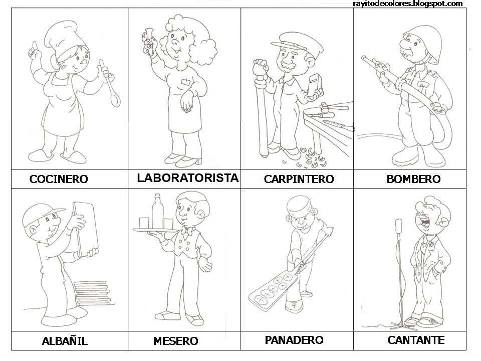 profesiones-y-oficios+(14).JPG (960×720) | oficios | Pinterest | Nähen