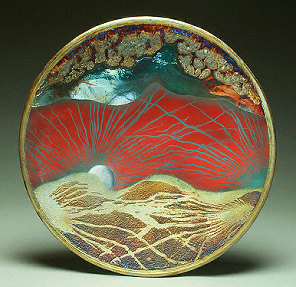 Moonrise from Vance Knob
