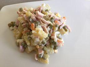 Russischer Salat Olivier von kloine1982 | Chefkoch #olivierrussischersalat