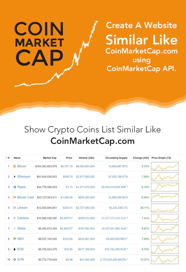crypto coin market cap