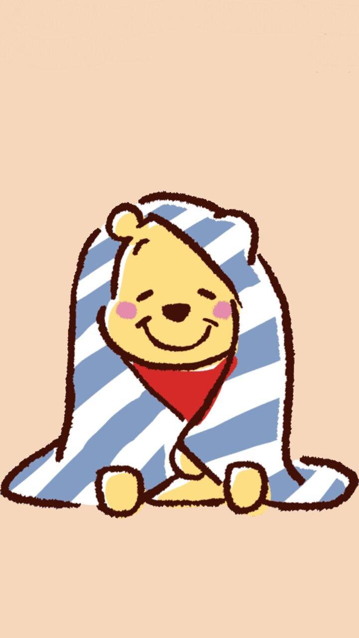 Winnie The Pooh 2 Blue Cute Winnie The Pooh Winnie The Pooh Gif Cute Disney Wallpaper