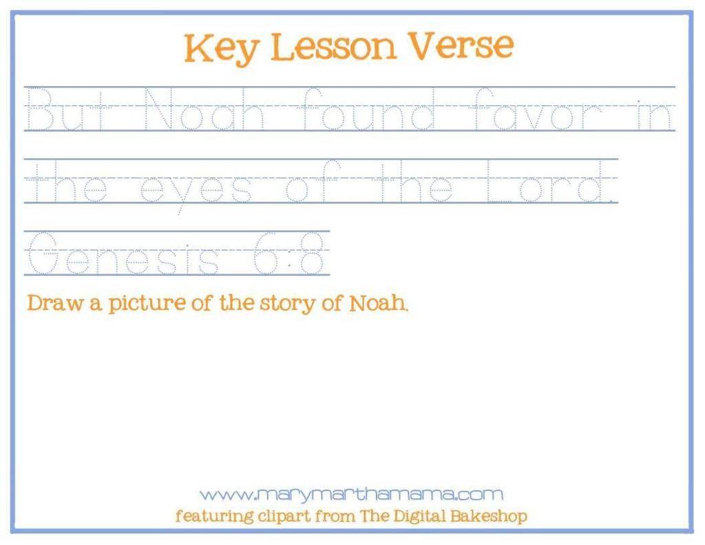 Noahs Ark Preschool Pack