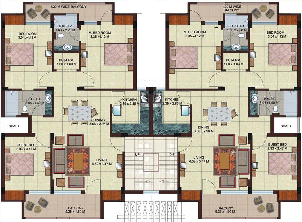 Apartment Floor Plans 2 BedroomDaily Planner. 2 bedroom apartment plans