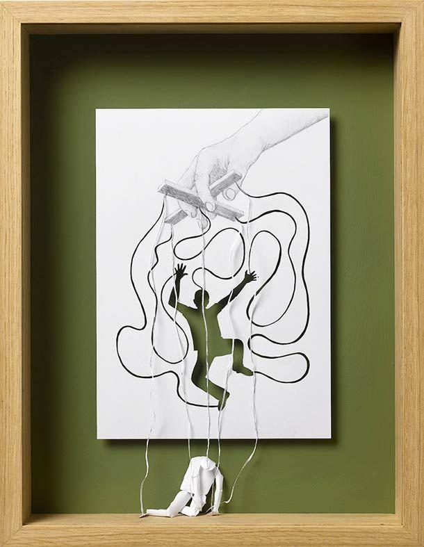 Les incroyables oeuvres en papier de Peter Callesen   Buzzly