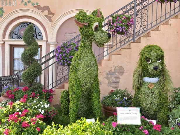 Amazing Gardens: Disney In Living Color | Disney, Gardens And Sculpture Part 46